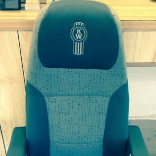 NEW TAKE OUT OEM KENWORTH SEAT